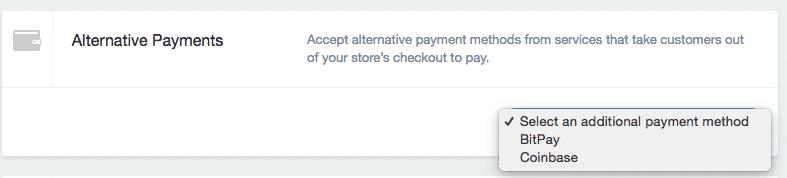 alternative betalinger