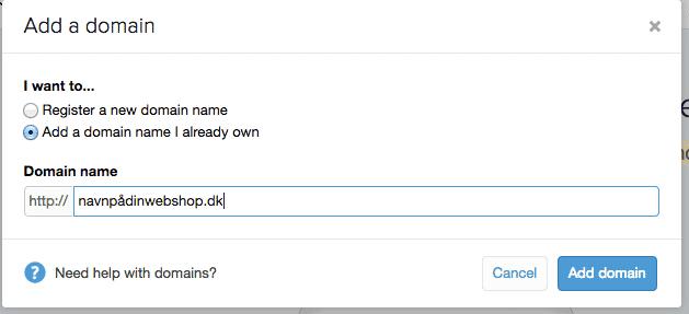 webshop-navn