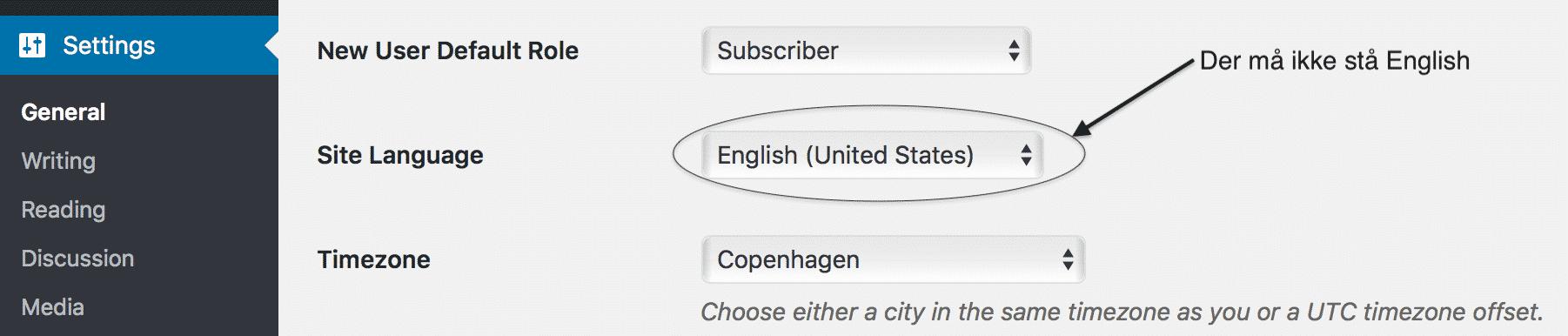 Det her finder du i dit WordPress kontrolpanel